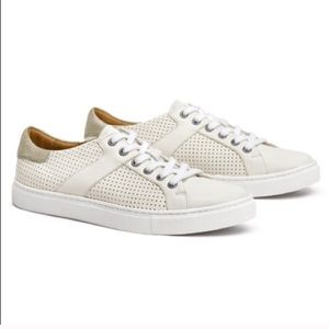 Trask Lindsey perforated leather sneakers